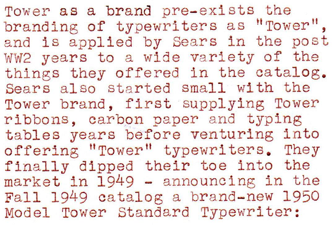 Serial number lookup typewriter Remington Serial